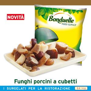 BON.FUNGHI PORCINI A CUBETTI KG1 BONDUEL